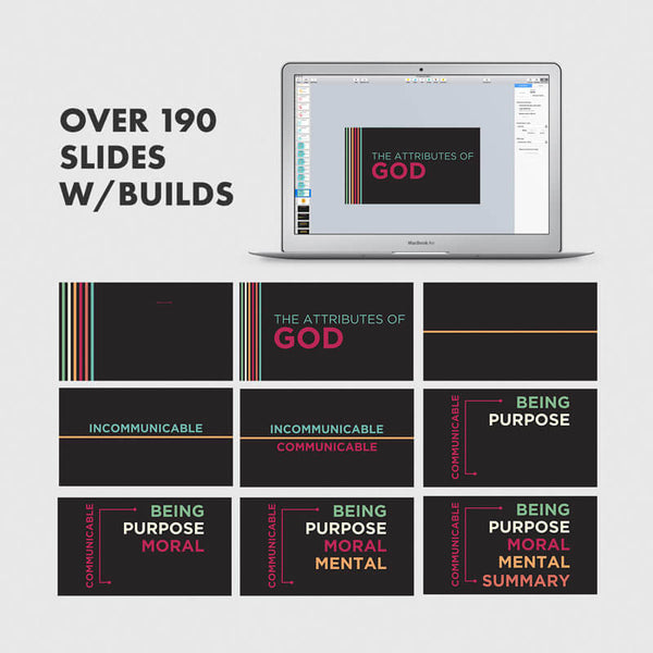 Attributes of God Presentation Slides