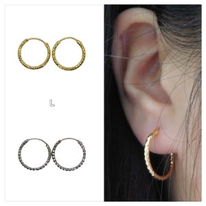 Faceted Hoops