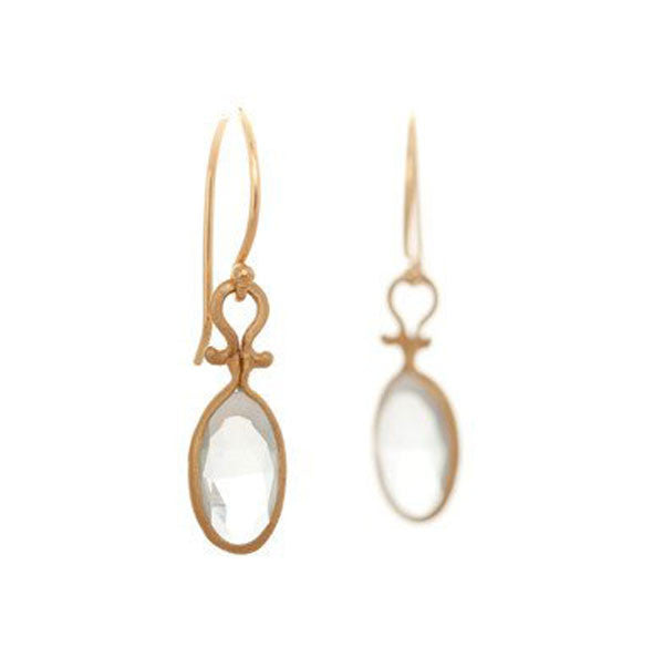 Dewdrop Quartz Earrings