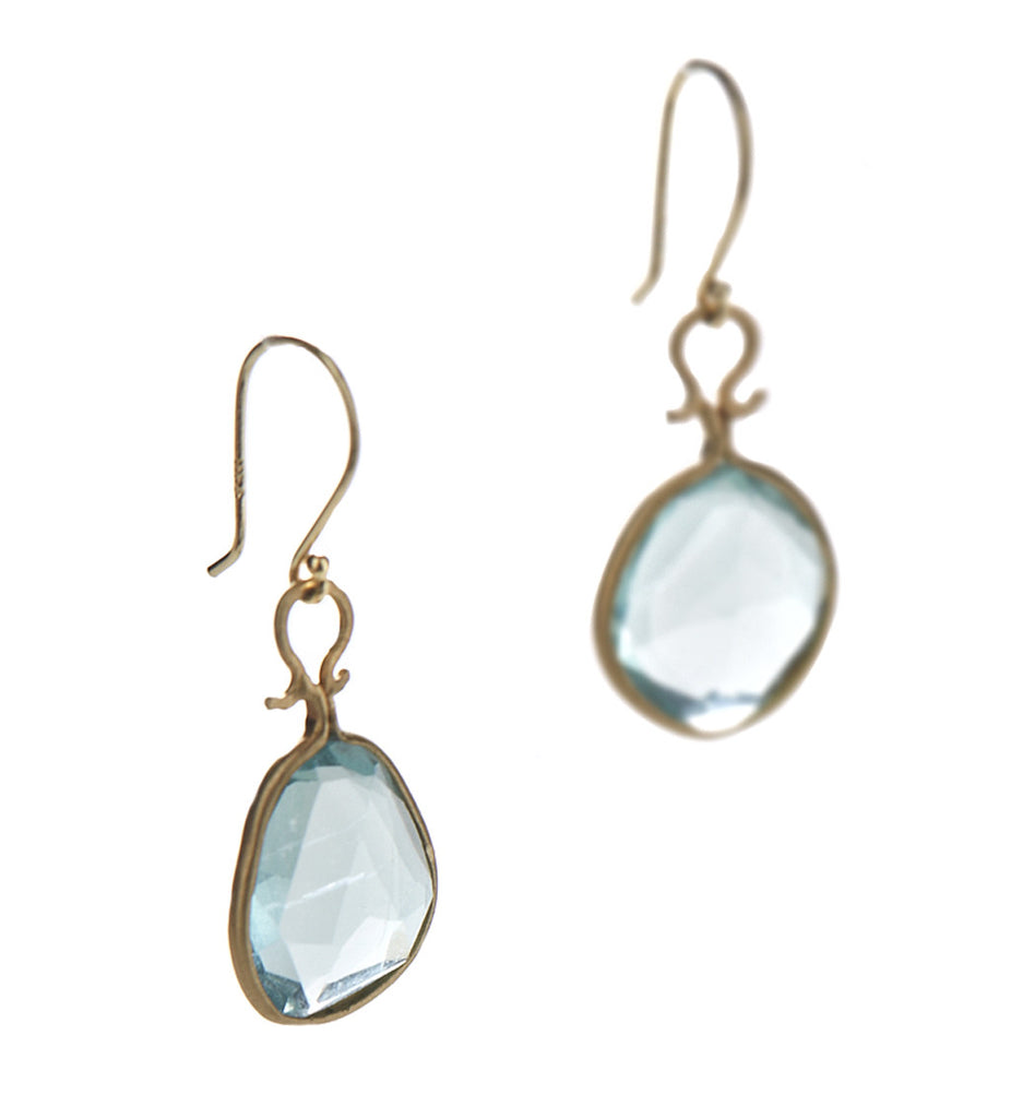 Asymmetrical Fluorite Earrings