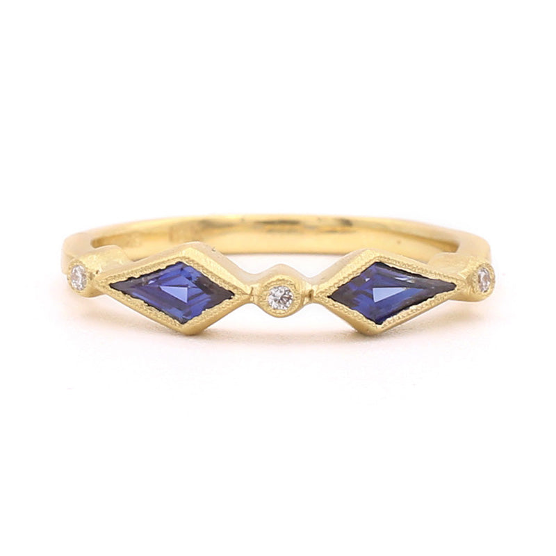 yellow edwards product gold blue sapphire pear with davies diamond ring band and