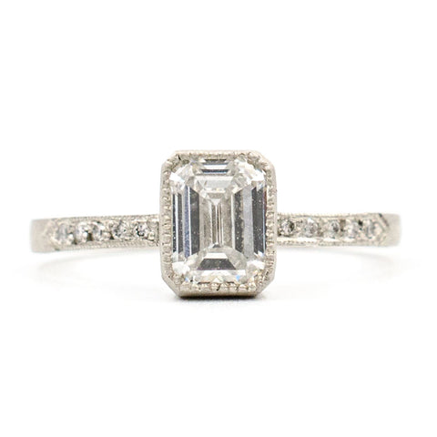 Blockette Emerald Cut Diamond