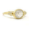 Moon and Stars Opaque Diamond Ring