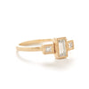 Blockette Medium Baguette Three Stone Ring