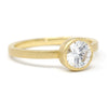 Mountings Blockette Round Solitaire Ring