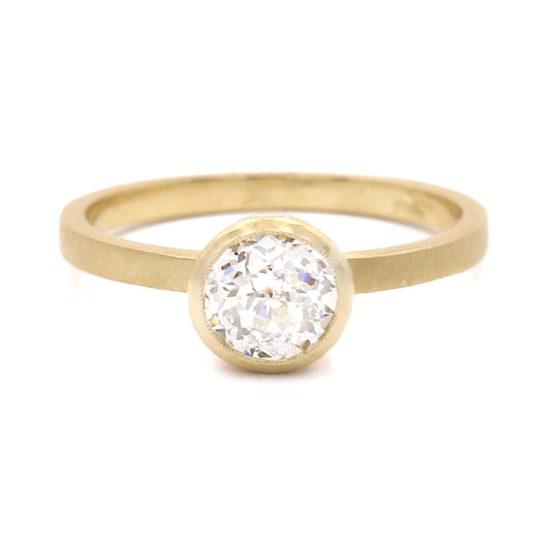 Blockette Crown Jubilee® Round Solitaire Ring