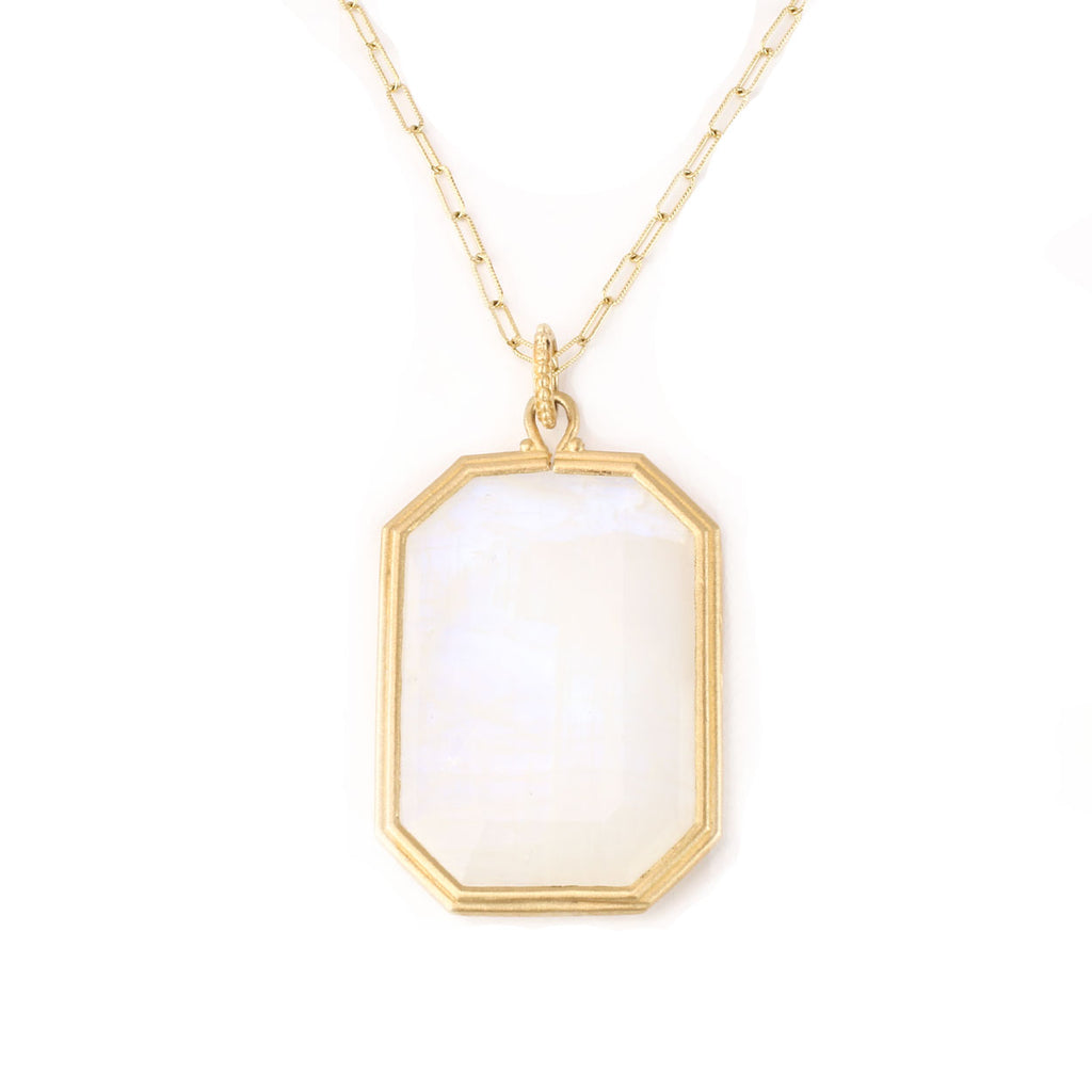 catherine emerald gold five crystal cut lv stone necklace popesco