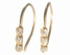 Dewdrop Diamond Line Earrings