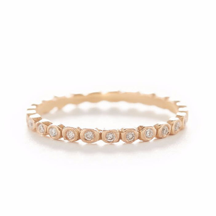 Dewdrop Small Diamond Band