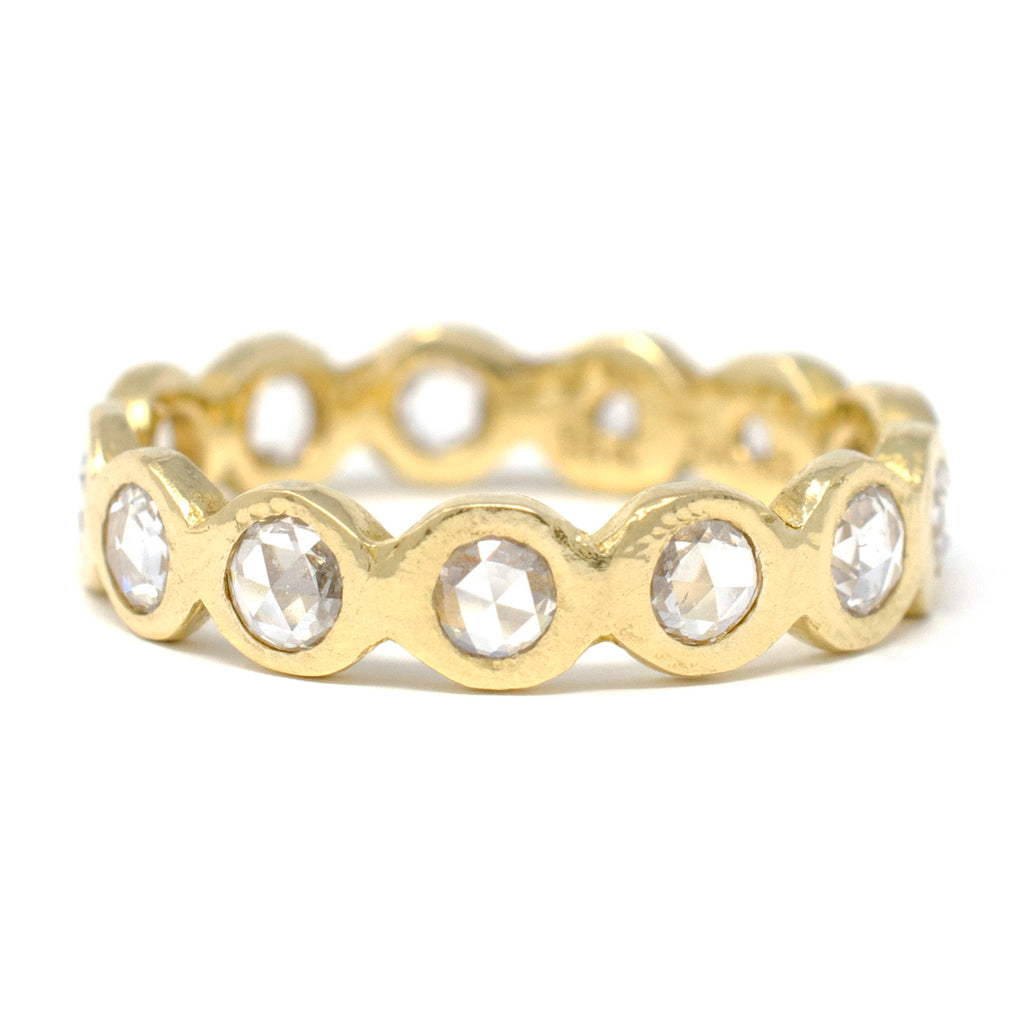 Dewdrop Large Diamond Band