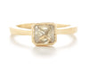Etruscan Radiant Cognac Diamond Ring