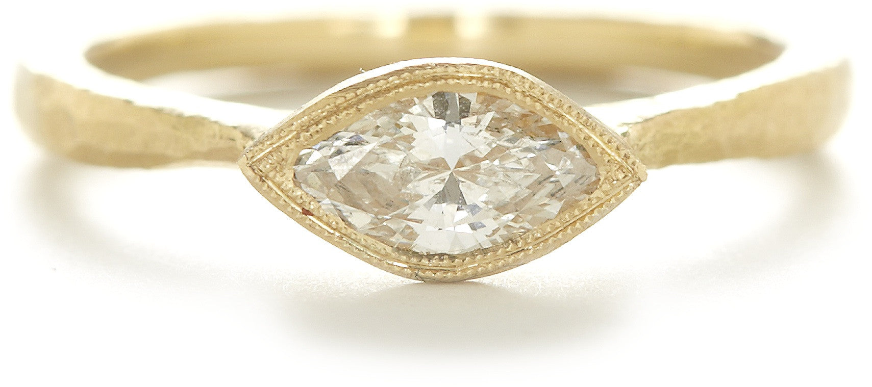 All Seeing Marquise Diamond Ring