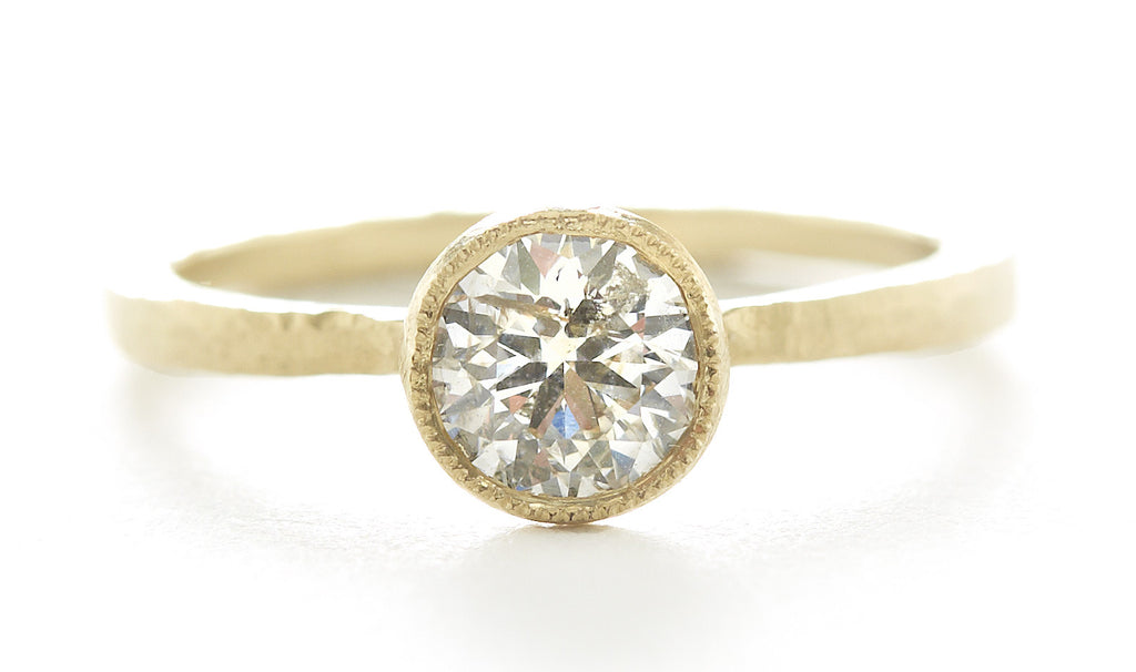 Etruscan Diamond Solitaire