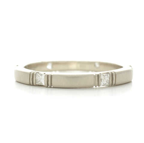 Eternity Square Diamond Band