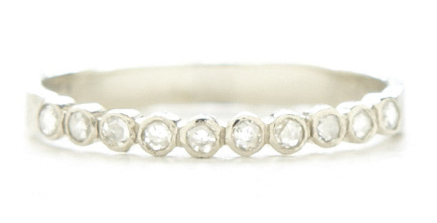 Hewn Ten Dot Diamond Ring