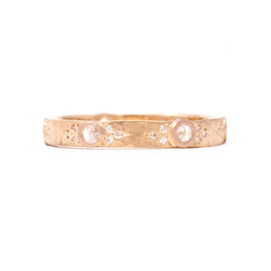 Liberated Eternity Small Rose Gold Band