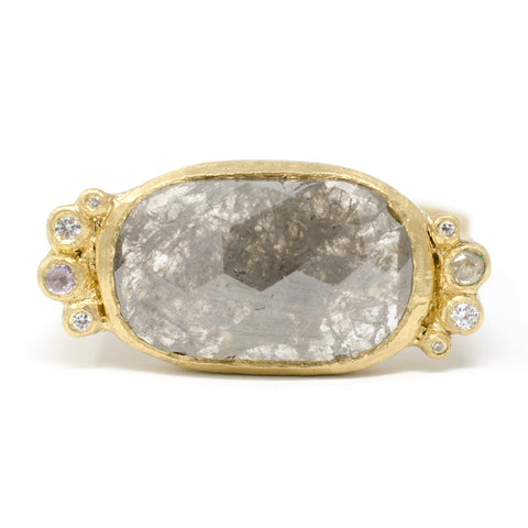 Hewn Rock Candy Opaque Diamond Ring