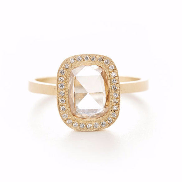 Lux Plus Cognac Diamond Ring