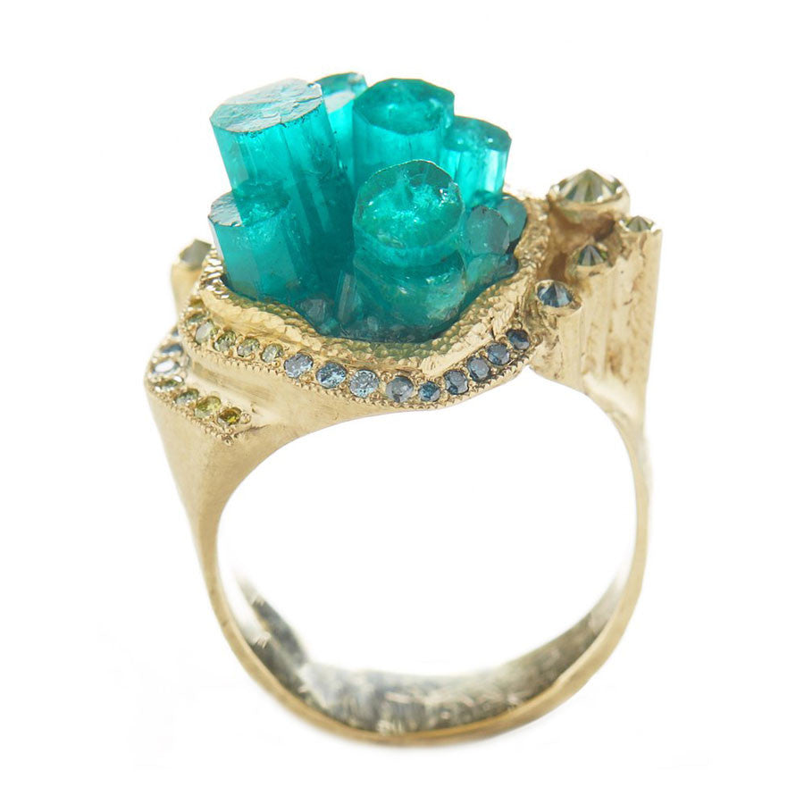 Mineral Emerald City Ring