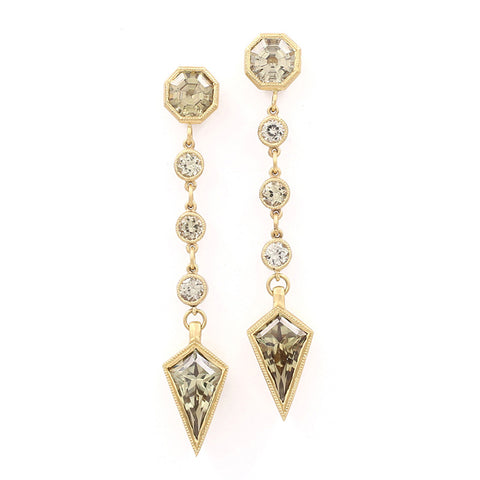 Csarite Kite Droplet Earrings