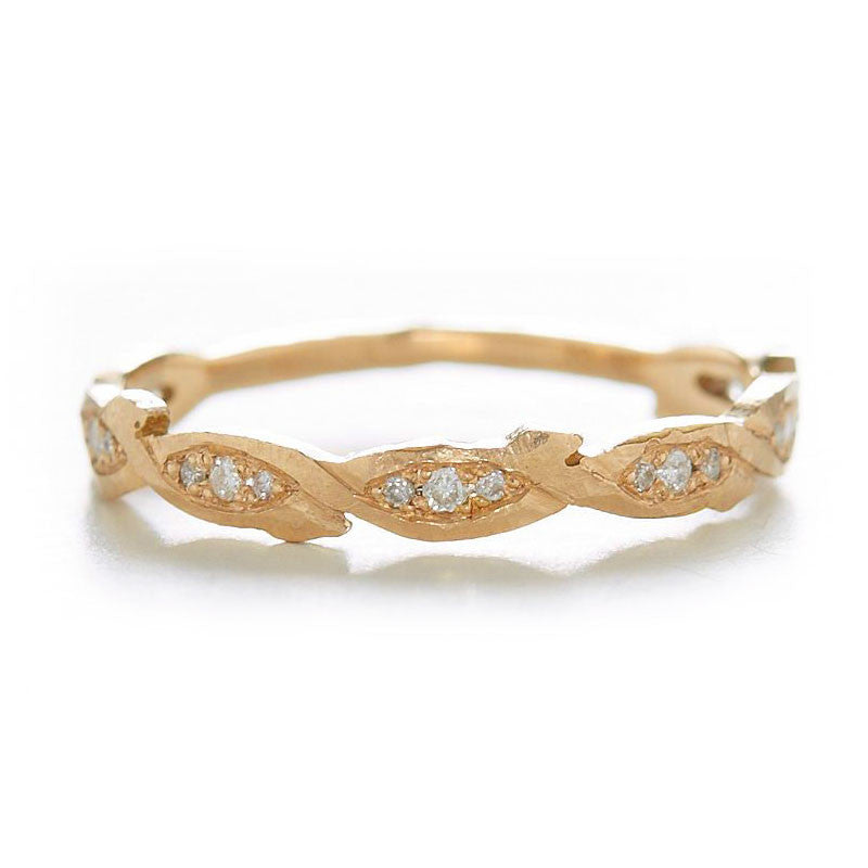 Relic Braid Diamond Band