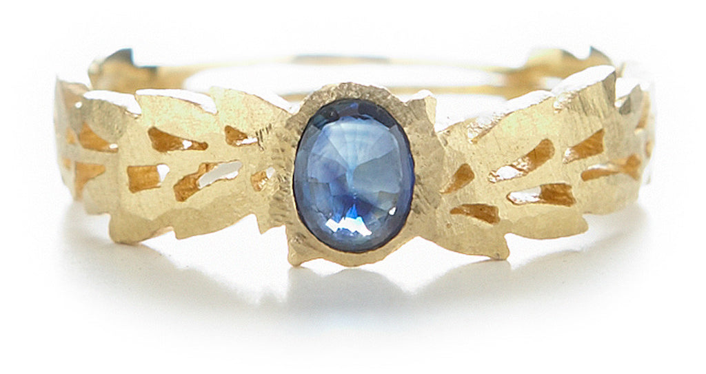 Relic Garland Blue Sapphire Band