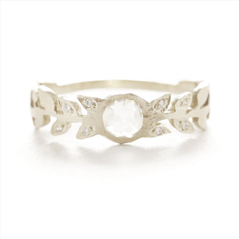 Relic Vine Diamond Ring
