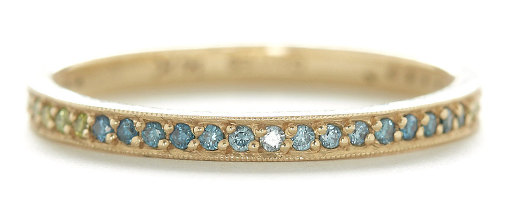 Stacking Ombre Pave Diamond Band