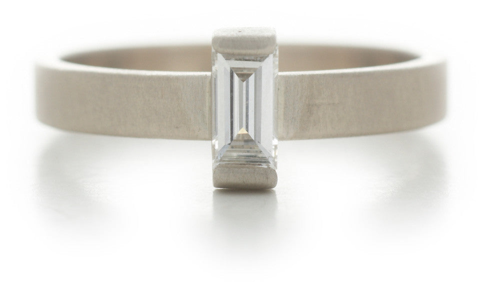 Stacking Baguette Diamond Ring