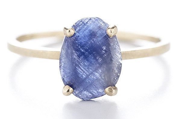 Stacking Blue Sapphire Ring