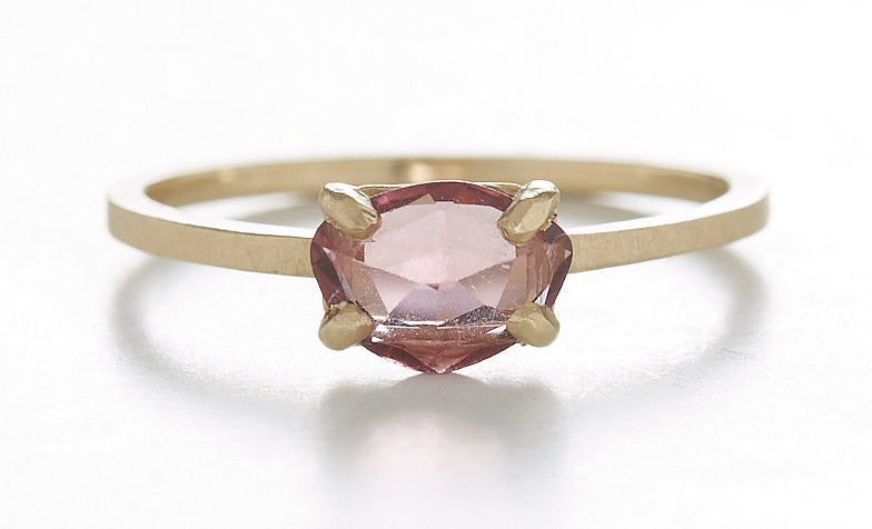 Stacking Rhodolite Garnet Ring