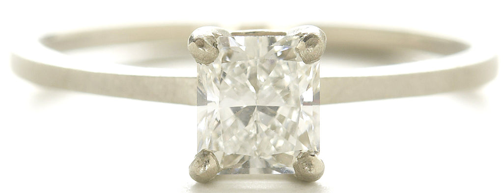 Stacking Radiant Diamond Ring