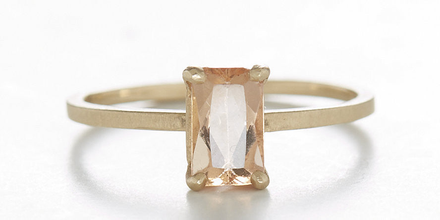 Stacking Imperial Topaz Ring