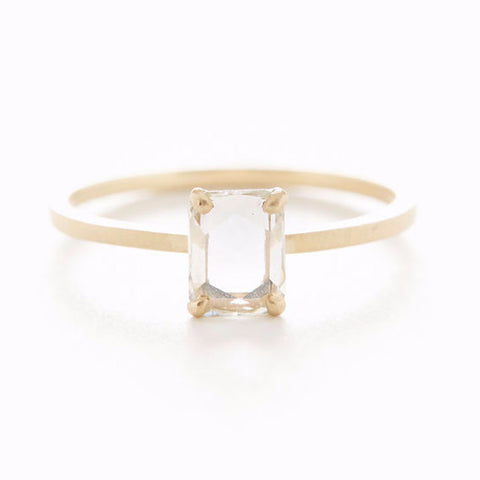 Stacking Oval Large Diamond Ring
