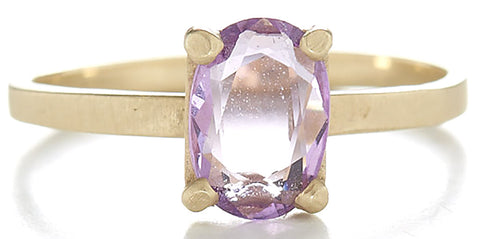 Stacking Lavender Sapphire Ring