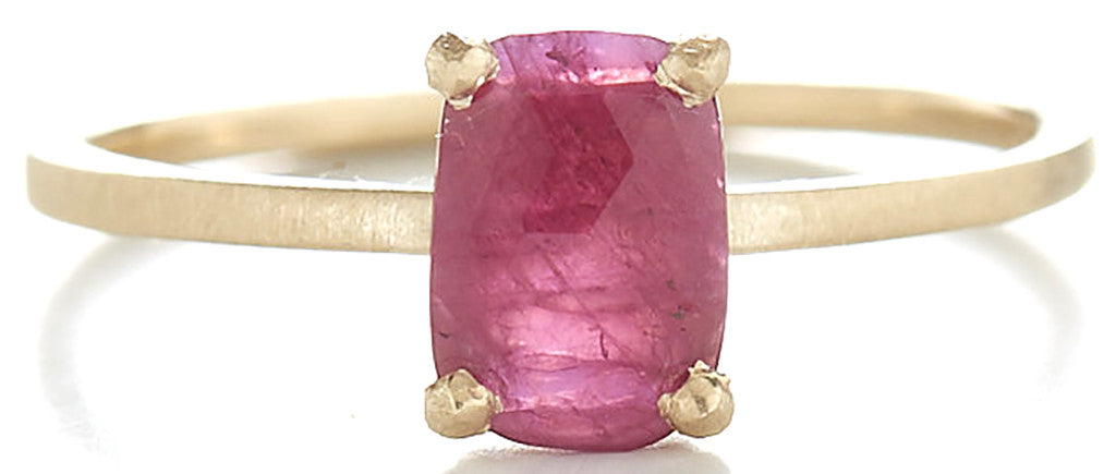 Stacking Ruby Ring