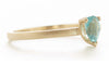 Stacking Pear Apatite Ring