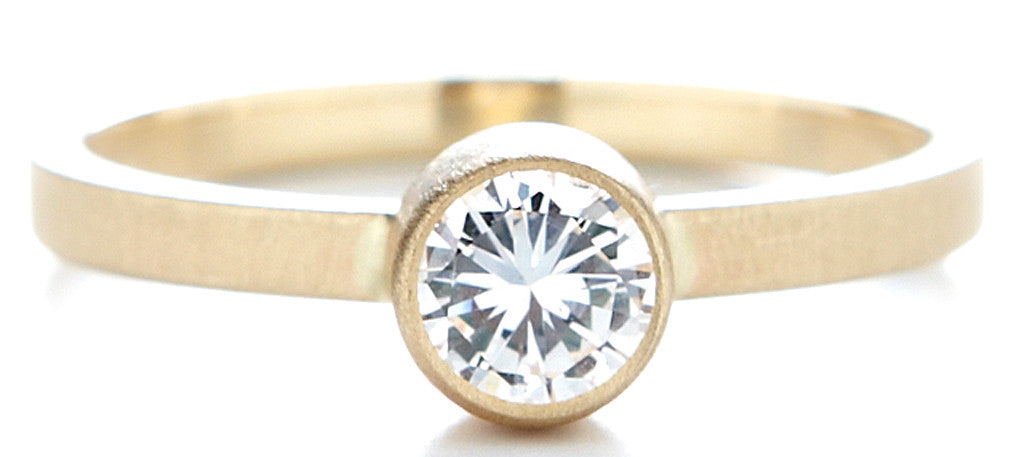 Stacking Round Diamond Ring