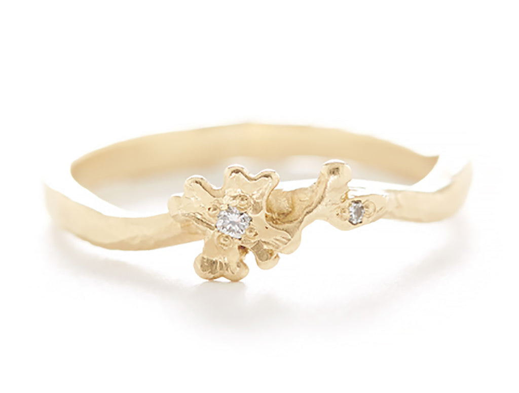 Vine Dogwood Flower Ring
