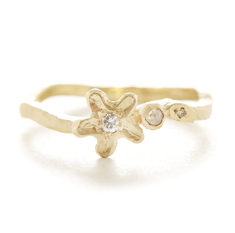 Vine Star Flower Ring