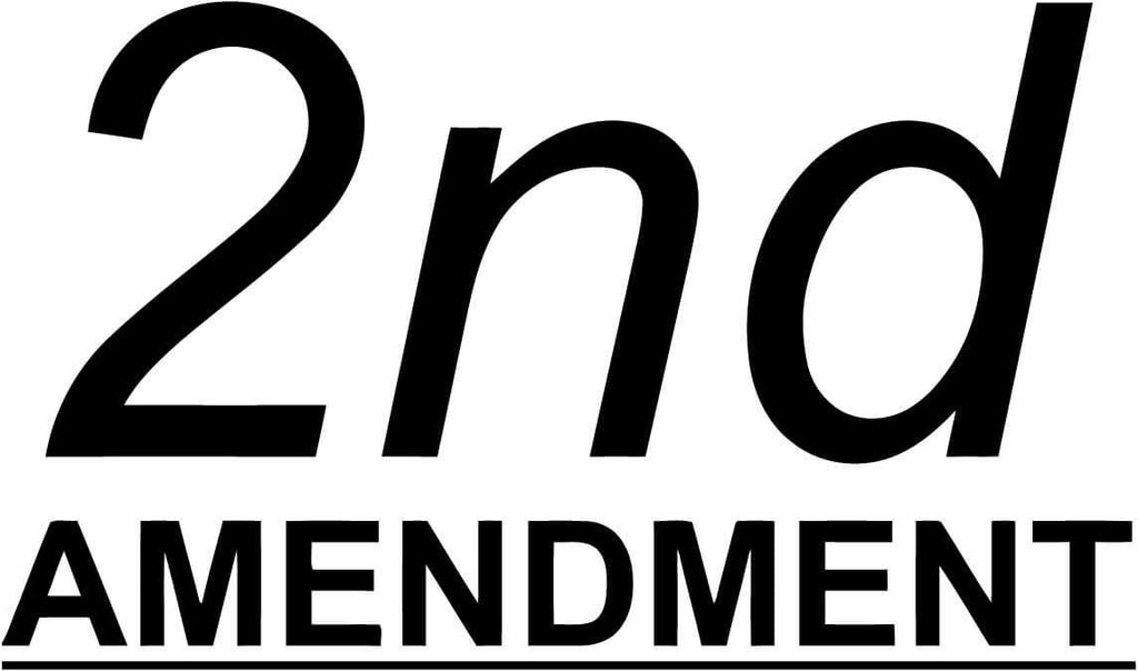 2nd Amendment - Vinyl Car Window and Laptop Decal Sticker - Decal - Car and Laptop Window Decal Sticker - 1