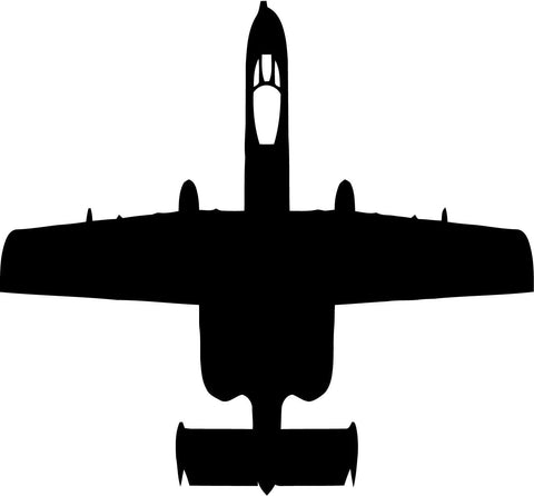 A-10 Warthog - Vinyl Car Window and Laptop Decal Sticker