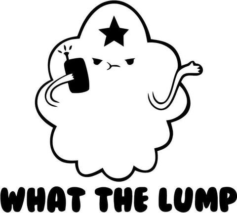 Adventure Time - Lumpy - Vinyl Car Window and Laptop Decal Sticker