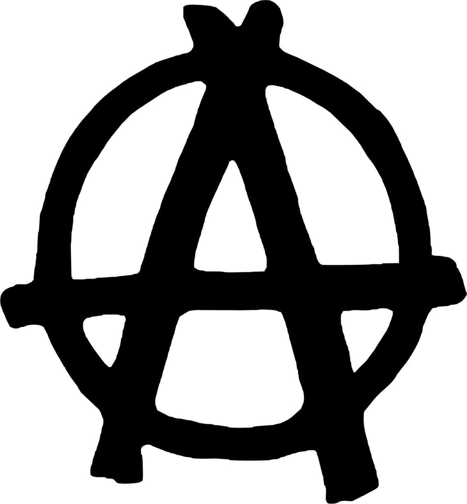 Anarchy Symbol Vinyl Car Window Laptop Decal Sticker