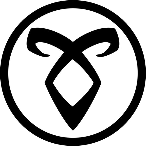 Angelic Power Rune Vinyl Car Window Laptop Decal Sticker