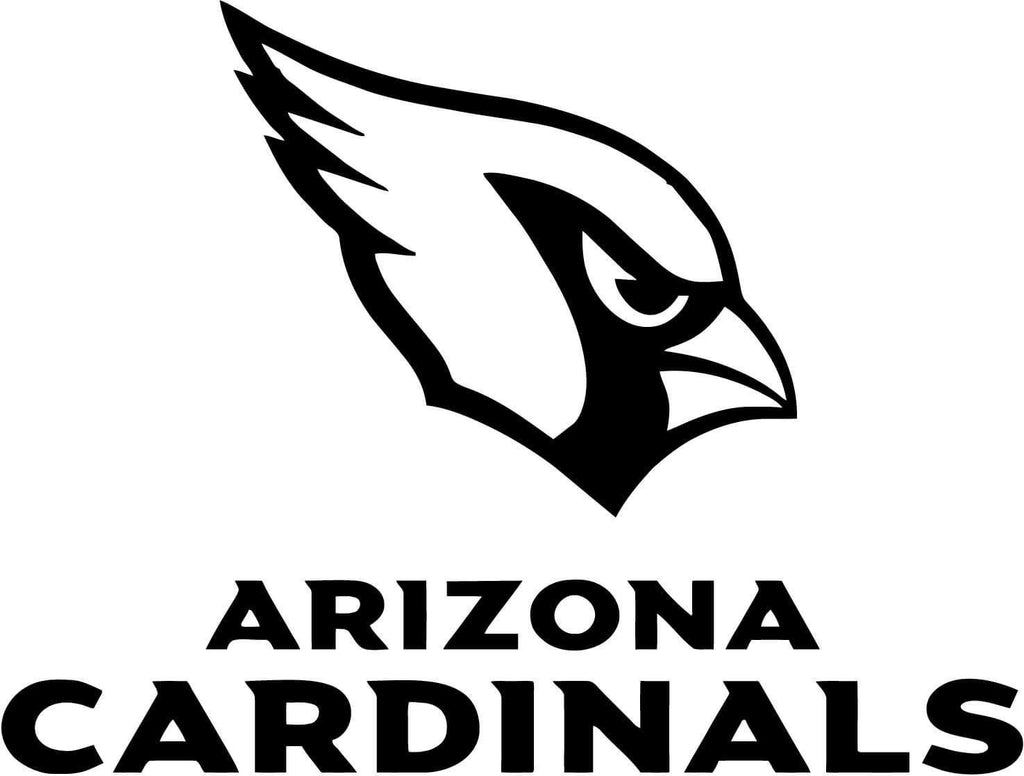 Arizona Cardinals Nfl Sports - Vinyl Car Window and Laptop Decal Sticker - Decal - Car and Laptop Window Decal Sticker - 1