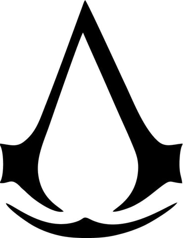 Assasins Creed Logo - Vinyl Car Window and Laptop Decal Sticker