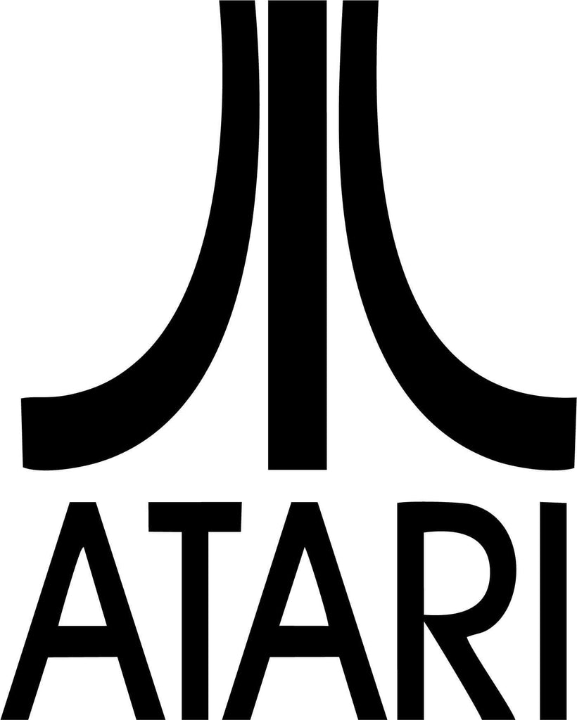 Atari Logo - Vinyl Car Window and Laptop Decal Sticker - Decal - Car and Laptop Window Decal Sticker - 1