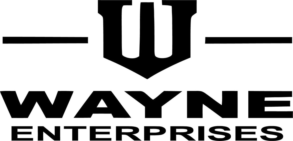 Batman - Wayne Enterprises - Vinyl Car Window and Laptop Decal Sticker - Decal - Car and Laptop Window Decal Sticker - 1