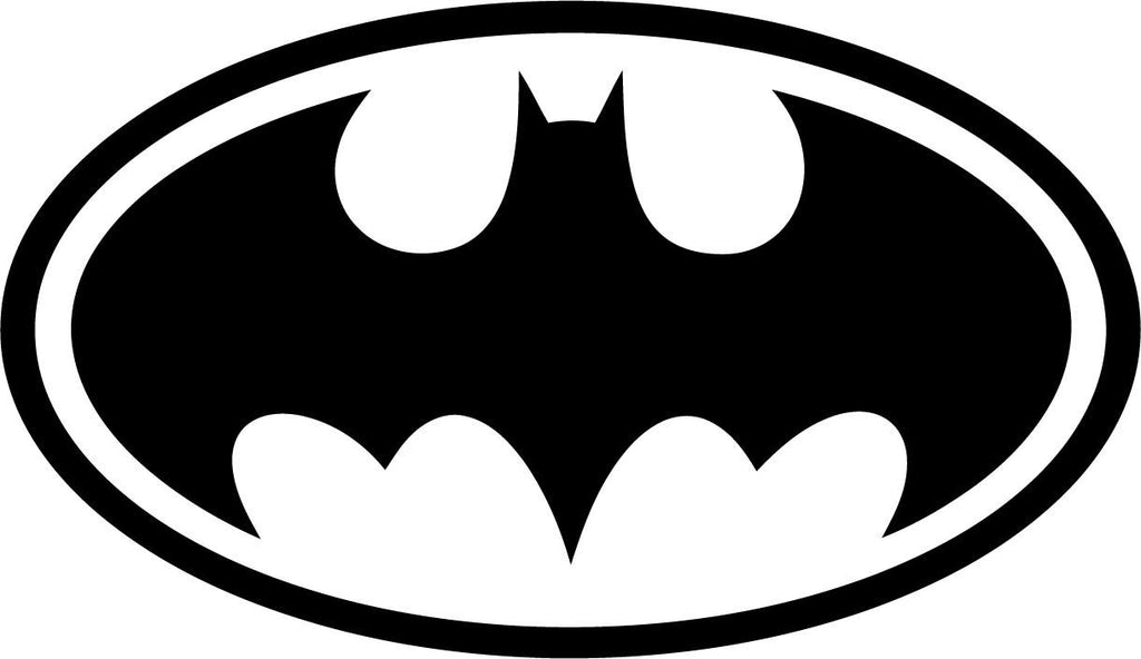 Batman - Emblem - Vinyl Car Window and Laptop Decal Sticker - Decal - Car and Laptop Window Decal Sticker - 1
